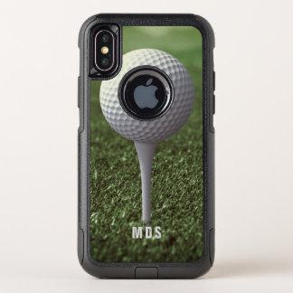 Golf die weg iPhone X Teeing van de Forens