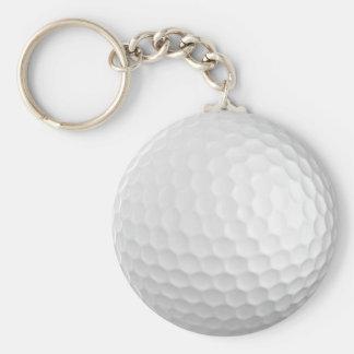 Golfbal keychain sleutelhanger
