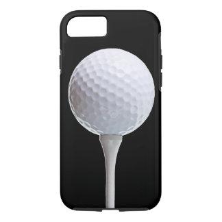 Golfbal op Zwarte - Aangepaste Sjabloon iPhone 7 Hoesje