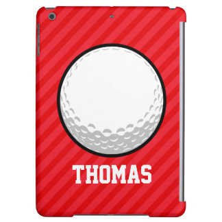Golfbal; Scharlaken Rode Strepen