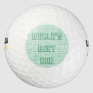 Golfbal van de Papa van de wereld de Beste Golfballen