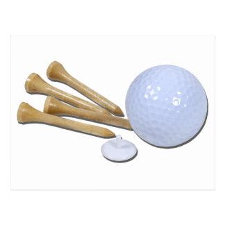 GolfBallMarkerTees020511 Briefkaart