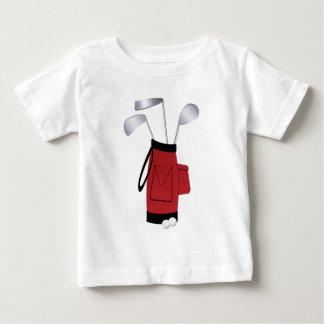 Golfclubs en Zak Baby T Shirts