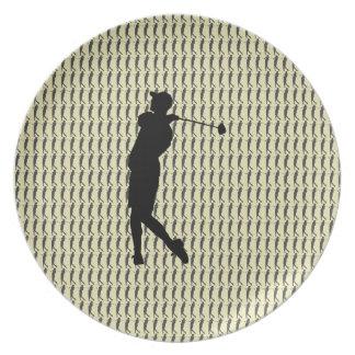 Golfspeler Bord
