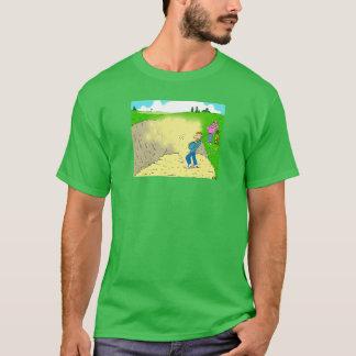 Golfspeler die in een Bunker wordt geplakt T Shirt