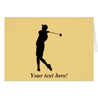 Golfspeler Kaart