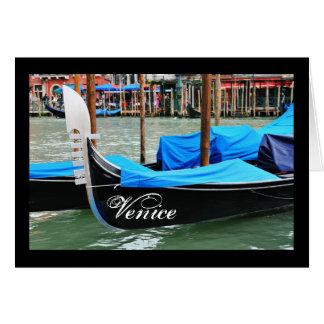 Gondel in Venetië, Italië Wenskaart