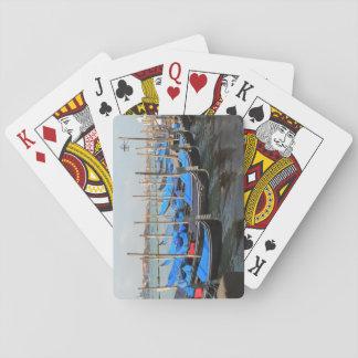 Gondels in de Speelkaarten van Venetië