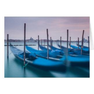 Gondels in Venetië Briefkaarten 0