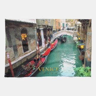 Gondolas- Venetië, Italië Theedoek