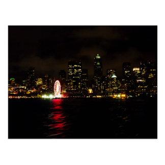 Goodnight Seattle Briefkaart