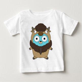 Gopher van buffels baby t shirts