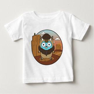 Gopher van buffels in Woestijn Baby T Shirts