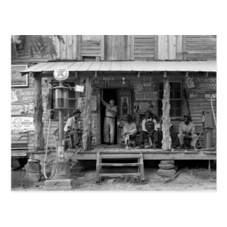 Gordonton, Noord-Carolina: 1939 Briefkaart