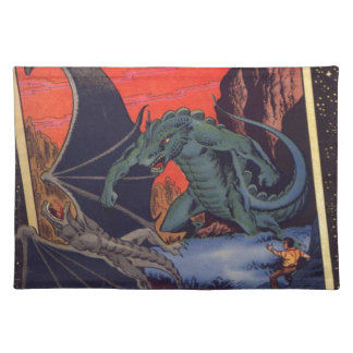 Gorgo versus Pterodactylus Placemat