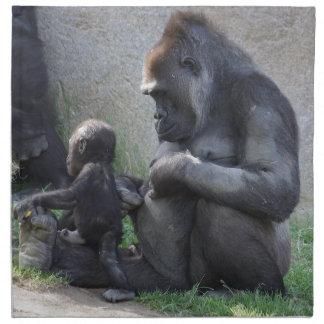 Gorilla Katoenen Servet