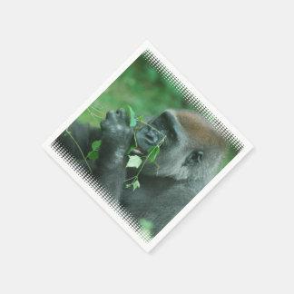 Gorilla Wegwerp Servetten