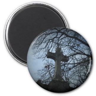 Gotisch beschut dwarsgraf magneet