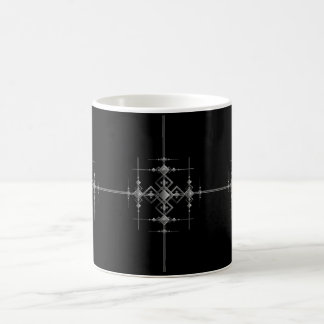 Gotisch metaalpatroon koffiemok