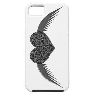 Gotische Gevleugelde iPhone 5 van het Hart van de Tough iPhone 5 Hoesje