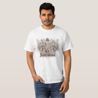 Gotische Jesus Salvation T-Shirt