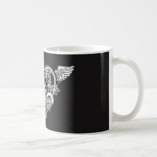 Gotische Liefde BW Koffiemok