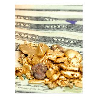 Goud en Geld Briefkaart