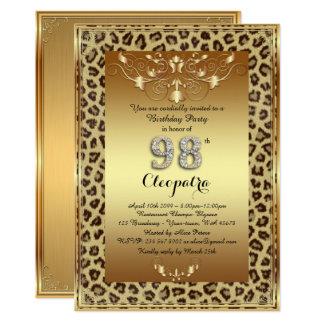goud van de Jachtluipaard van de 98ste, Partij van Kaart