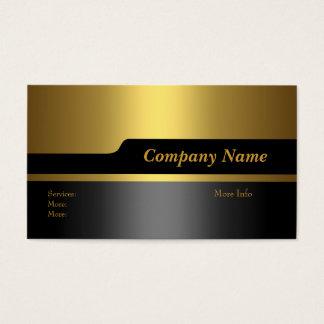 Goud van het Bedrijf van het visitekaartje het