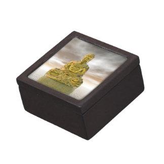 Gouden 3D Boedha - geef terug Premium Cadeau Doosje