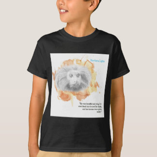 Gouden Aap Daemon - Zijn Donkere Materialen T Shirt