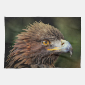 Gouden adelaar theedoek