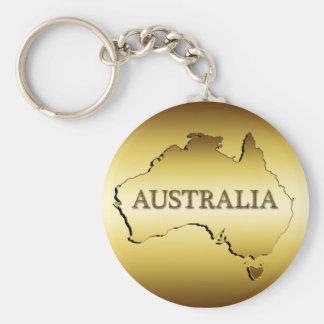 GOUDEN AUSTRALIË SLEUTELHANGER