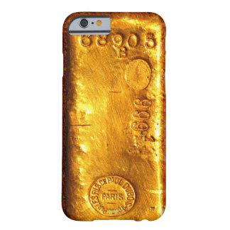 Gouden Bar Barely There iPhone 6 Hoesje