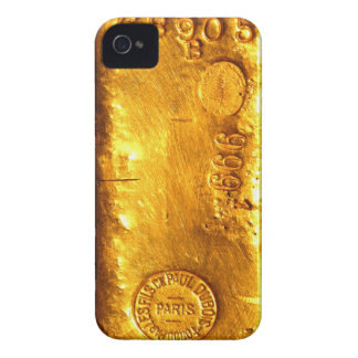Gouden Bar iPhone 4 Hoesje