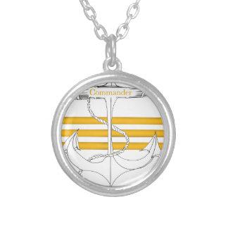 gouden bevelhebber, tony fernandes zilver vergulden ketting