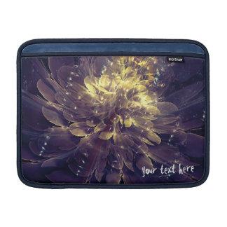 Gouden Blauwe Bloem | iPad Mini/Lucht/Sleeves Beschermhoes Voor MacBook Air
