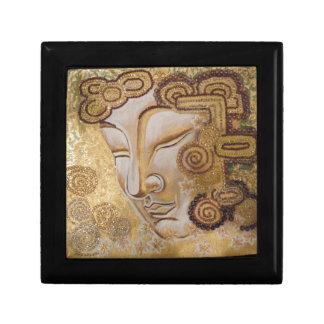 Gouden Boedha Decoratiedoosje