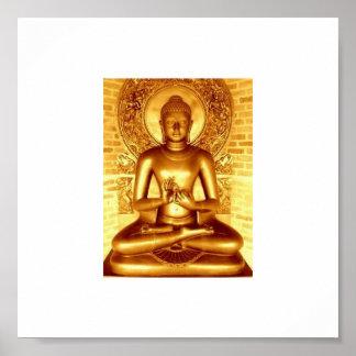 Gouden Boedha Poster