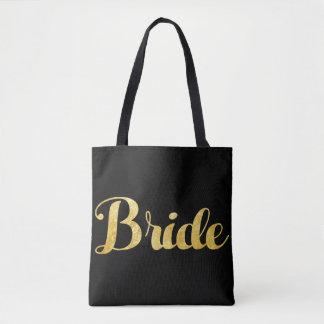 Gouden bruid draagtas
