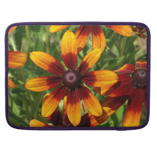 """Gouden bruine bloemen Macbook Pro 15 """" Sleeve Voor MacBooks"""
