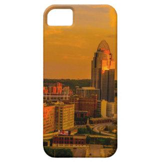 Gouden Cincinnati Barely There iPhone 5 Hoesje
