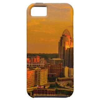 Gouden Cincinnati Tough iPhone 5 Hoesje