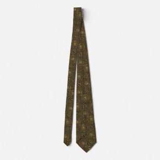 Gouden cirkels persoonlijke stropdas