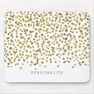 Gouden Confettien Glam Muismatten