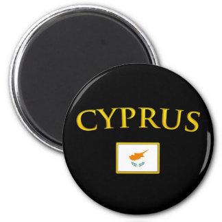 Gouden Cyprus Magneet