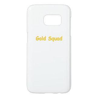 Gouden de telefoonhoesje van de Ploeg Samsung Galaxy S7 Hoesje