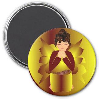 Gouden Engel Koelkast Magneten