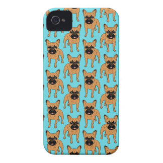 Gouden Fawn Frenchie iPhone 4 Hoesje