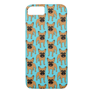 Gouden Fawn Frenchie iPhone 7 Hoesje